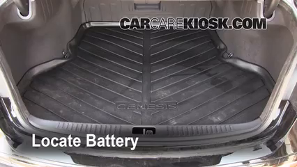 2009 Hyundai Genesis 4.6 4.6L V8 Battery Clean Battery & Terminals
